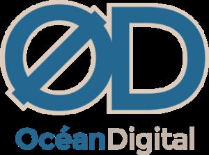 le logo océan digital oléron