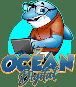 mascotte de ocean digital agence web wordpress en charente maritime